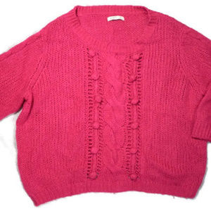 Old Navy Pink Sweater XXL